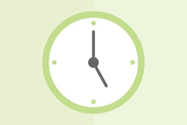 Establece horarios