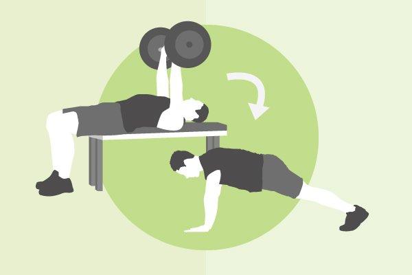 cómo cambiar los ejercicios